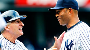 Mick Kelleher and Mariano Rivera