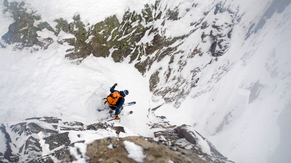 Swedish ski mountaineer Andreas Fransson lives in Chamonix, France.