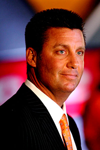 Oklahoma State coach Mike Gundy