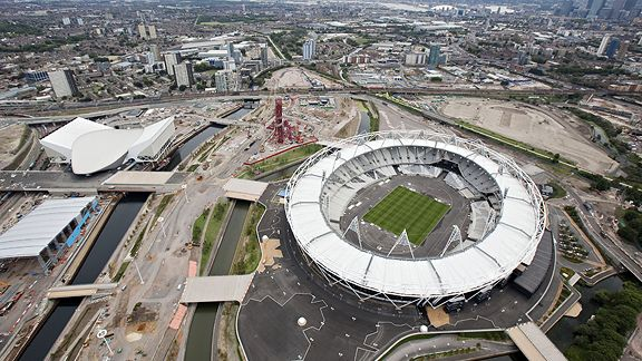 Olympic Stadium, 2012 London Games, Summer Olympics