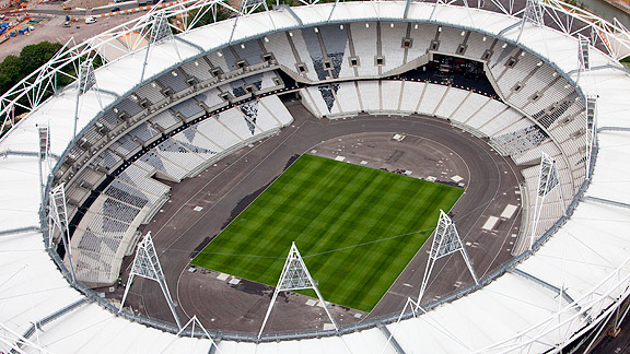 Olympic Stadium, 2012 London Games, Summer Olympics