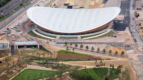 Velodrome, Olympic Stadiums, 2012 London Games, Summer Olympics