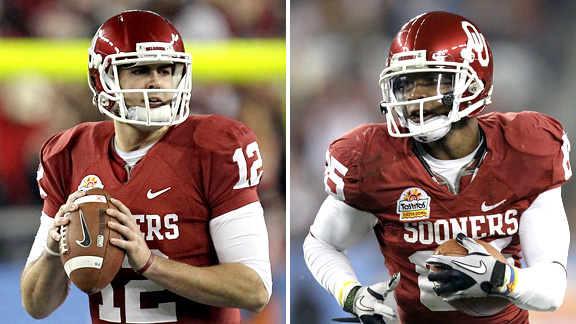 Landry Jones, Ryan Broyles