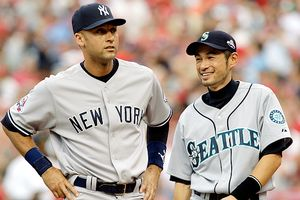 Ichiro Suzuki and Derek Jeter