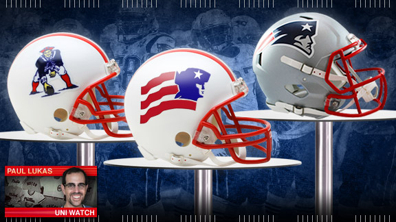 Page 2 Patriots Helmets Uni Watch