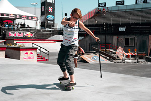 Lacey Baker is out of X Games 17 competition after receiving MRI results on Thursday confirming a partially torn left MCL.