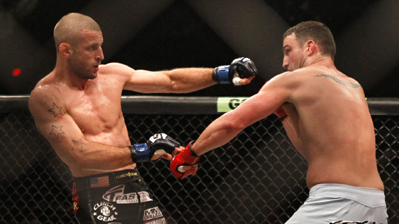 Scott Smith vs Tarec Saffiedine