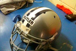 Mario Butler's helmet