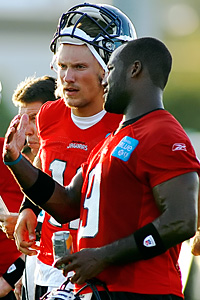 Blaine Gabbert and David Garrard