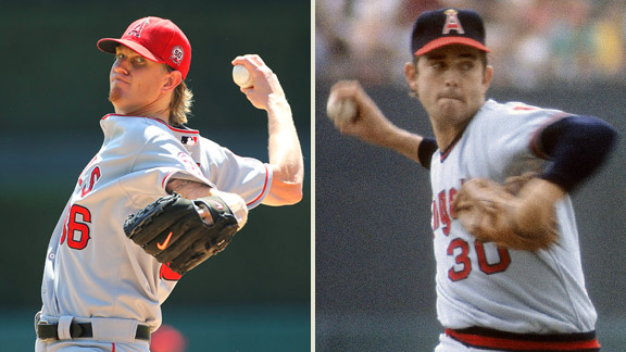 Jered Weaver, Nolan Ryan