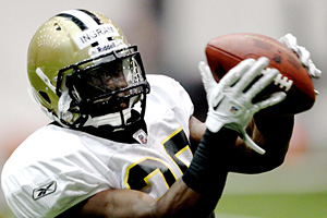 Saints running back Mark Ingram