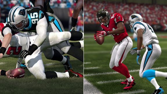 Madden 12 NFL Player Ratings: Falcons and Panthers