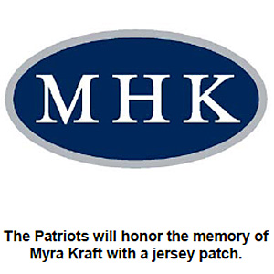 Myra Kraft patch