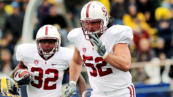 Stanford's David DeCastro is considered the best guard prospect in the draft.