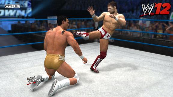 WWE '12 First Daniel Bryan Picture!