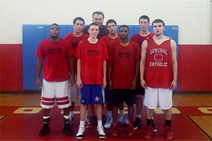Central Catholic basketball team