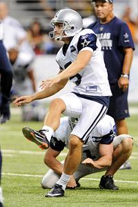 John Albright / Icon SMI Dan Bailey has been the Cowboys' most