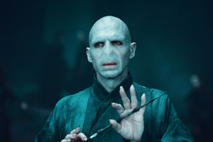 Ralph Fiennes as Lord Voldemort in Harry Potter and the Deathly Hallows - Part 2