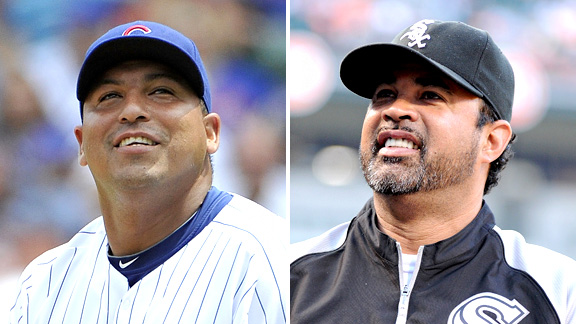Carlos Zambrano and Ozzie Guillen