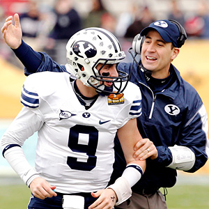 BYU's Jake Heaps and Brandon Doman