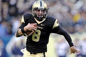 Army quarterback Trent Steelman