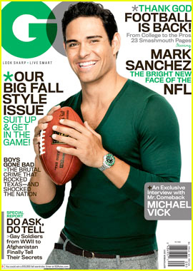 Mark Sanchez on GQ cover