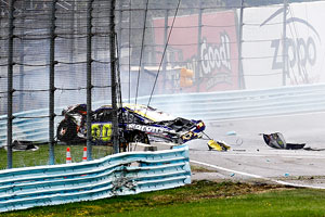 Watkins Glen Crash