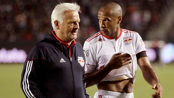 THierry Henry & Hans Backe