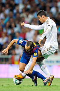 Ronaldo, Andres Iniesta
