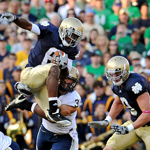 Notre Dame's Theo Riddick