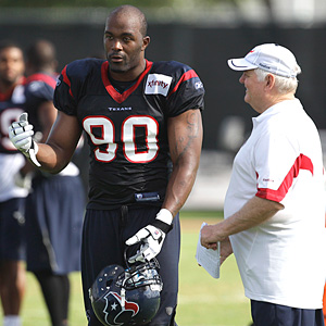 Mario Williams and Wade Phillips