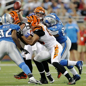 Ndamukong Suh and Andy Dalton