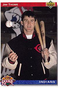 Jim Thome Baseball Card