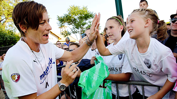 Abby Wambach has those must-see moves, and her powerful skills at forward can give magicJack an edge.