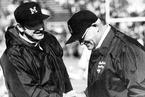 Woody Hayes and Bo Schembechler