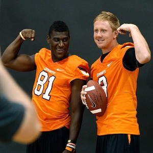 Justin Blackmon & Brandon Weeden