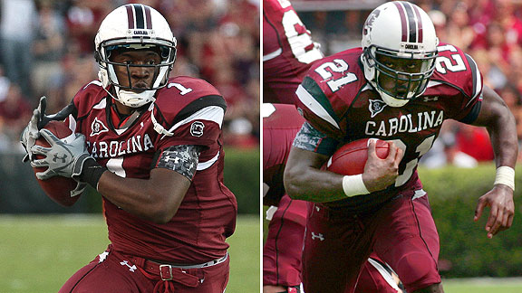 Marcus Lattimore/Alshon Jeffery