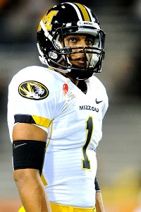 Missouri quarterback James Franklin