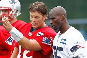 Tom Brady and Chad Ochocinco