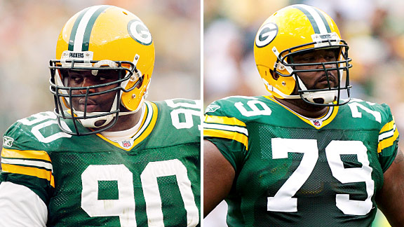B.J. Raji & Ryan Pickett