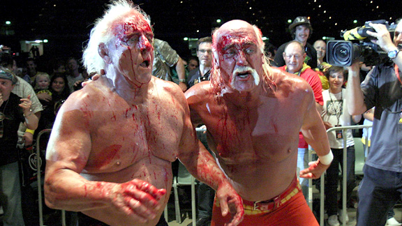 The Wrestler in Real Life. Ric Flair's long, steady decline