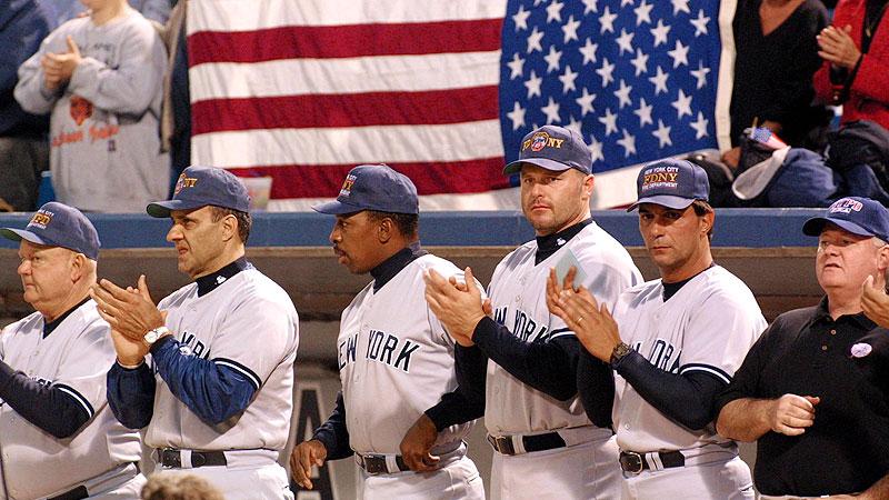 Sept. 18, 2001: New York Yankees at Chicago White Sox