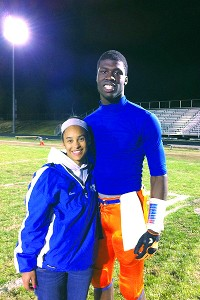 Dorial Green-Beckham and Sara