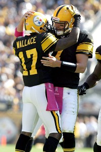 Ben Roethlisberger and Mike Wallace
