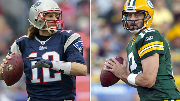 Tom Brady/Aaron Rodgers