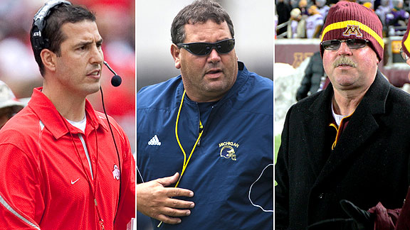 Luke Fickell/Brady Hoke/Jerry Kill