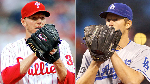Roy Halladay and Clayton Kershaw