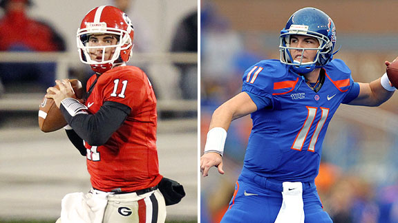 Aaron Murray and Kellen Moore