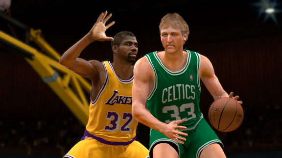 Larry Bird, Magic Johnson