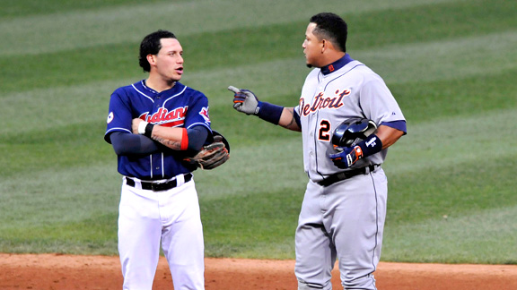 Miguel Cabrera and Asdrubal Cabrera